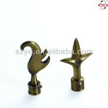 S50 Brass Curtain Pole Finial